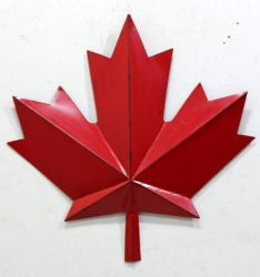 Red Maple Leaf 40""