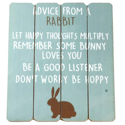 Advice from a Rabbit