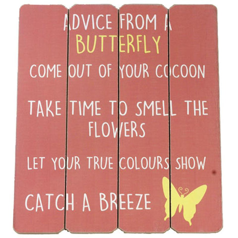 Advice from a Butterfly
