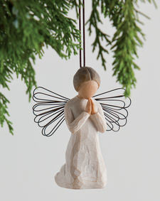 Willow Tree: Angel of Prayer Ornament