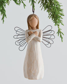 Willow Tree: Sign for Love Ornament