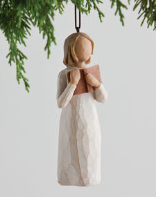 Willow Tree: Love of Learning Ornament
