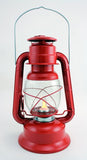 Large Metal Lantern with Realistic Flame