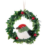 Bird in Wreath Ornament