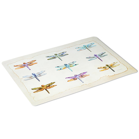 Dragonfly Grid Placemat