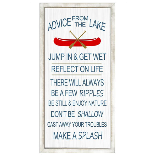 Advice from the Lake