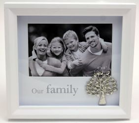 Family Shadow Box Frame