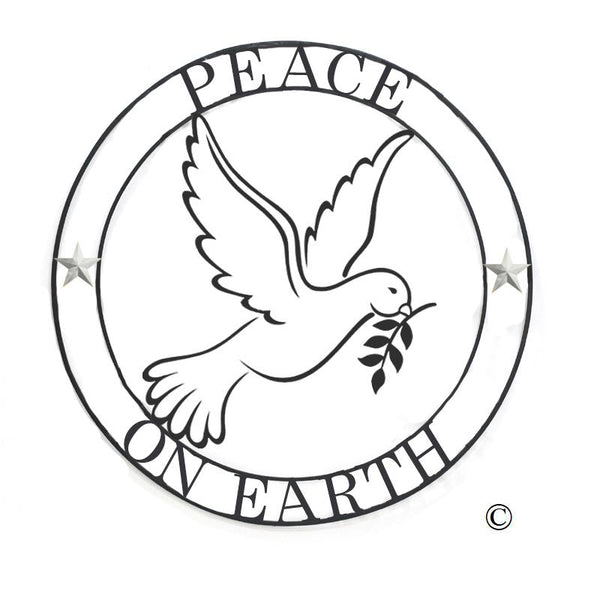 Peace on Earth Medallion