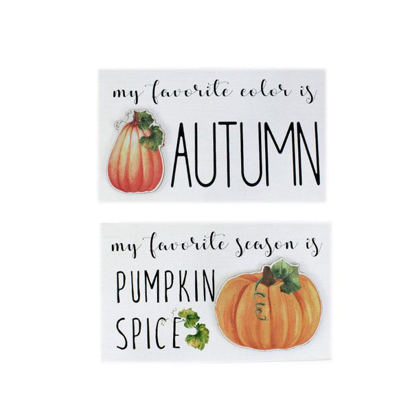 Fall Wall Plaques