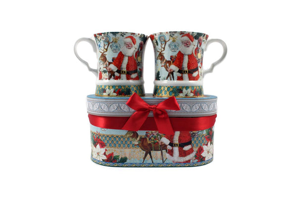 Porcelain Mug Set-Gift Boxed