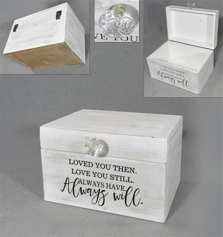 Wedding/Anniversary Card Box