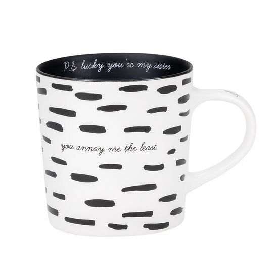 You Annoy Me The Least Mug
