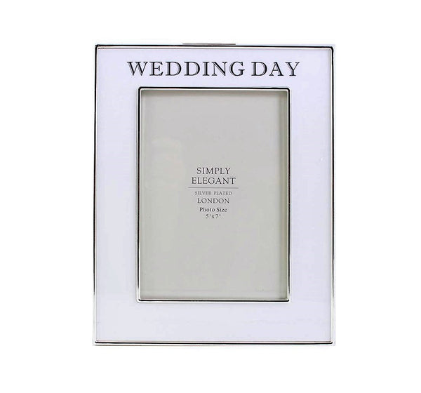 Wedding Day Photo Frame