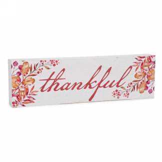 Thankful Plaque
