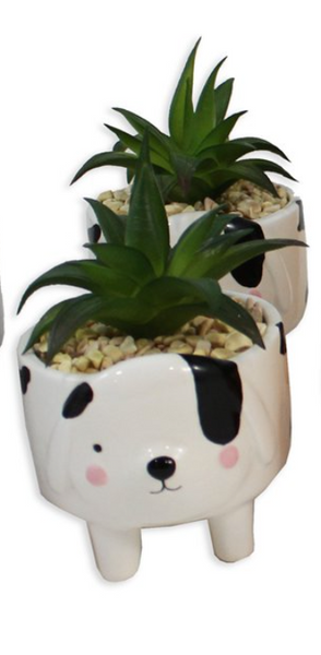 Ceramic Animal Planter (Assorted)
