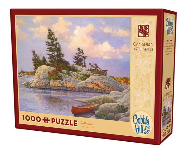 Cobble Hill Puzzle: Red Canoe