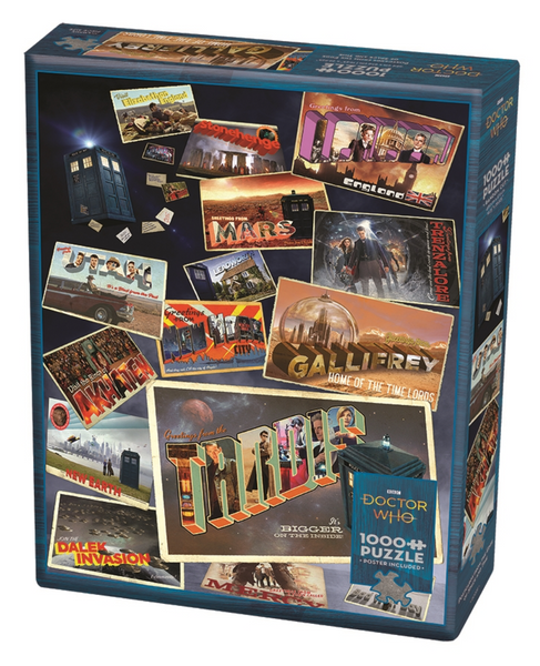 Cobble Hill Puzzle: Doctor Who: Postcards