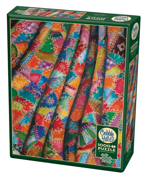 Cobble Hill Puzzle: Crazy Quilt