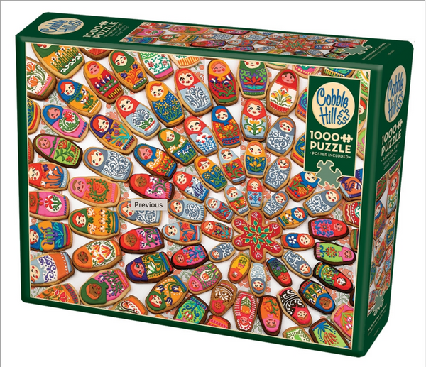 Cobble Hill Puzzle: Matryoshka Cookies