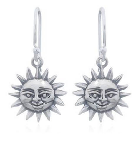 Smiling Sun Earrings