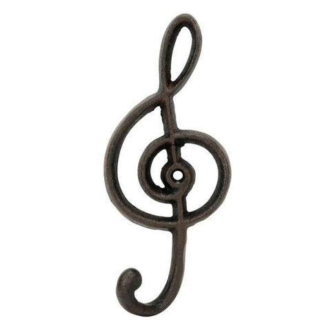 Cast Iron Treble Clef