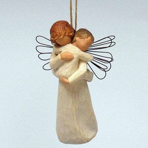 Willow Tree: Angels Embrace Ornament