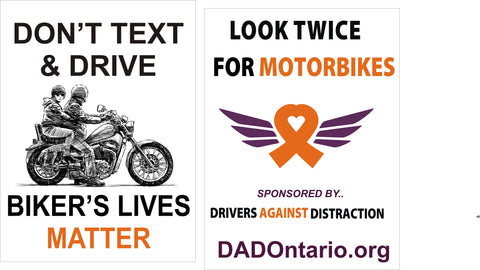 Supporting Motorcycle Awareness with Donations