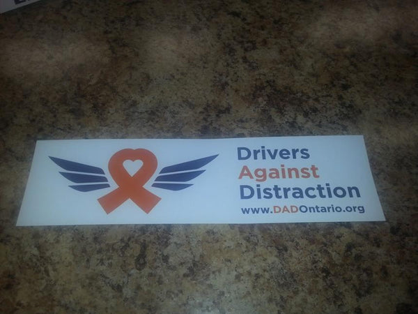 Bumper Stiker - Drivers Against Distraction