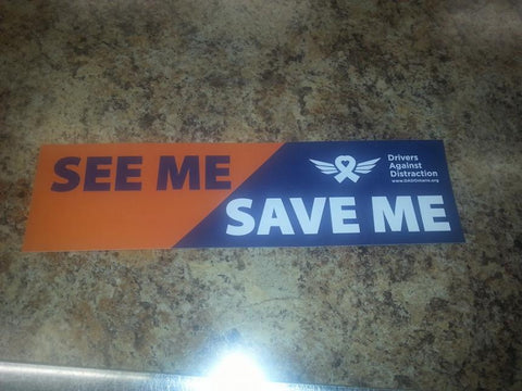 Bumper Sticker - See me Save me