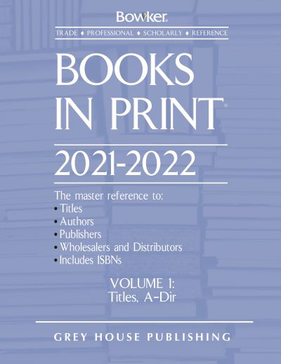 Bowker's Books In Print Product Line
