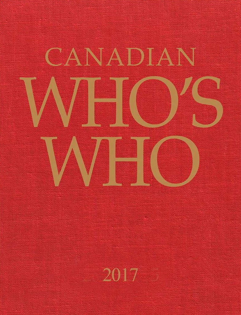 Canadian Who's Who 2017