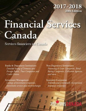 Financial Services Canada, 2017/18