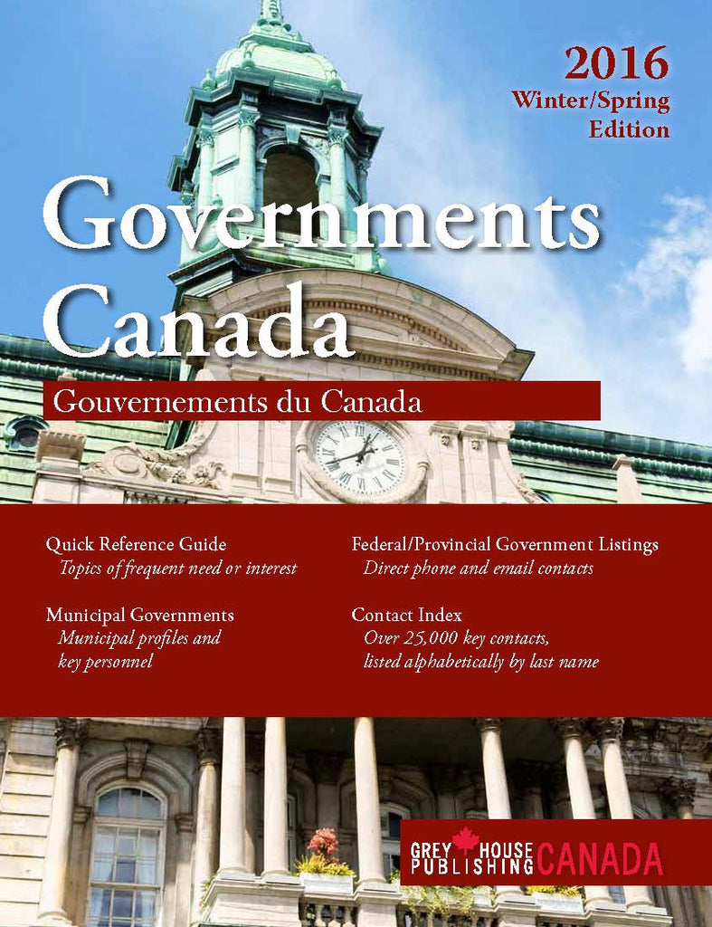 Government Canada: Winter/Spring 2016