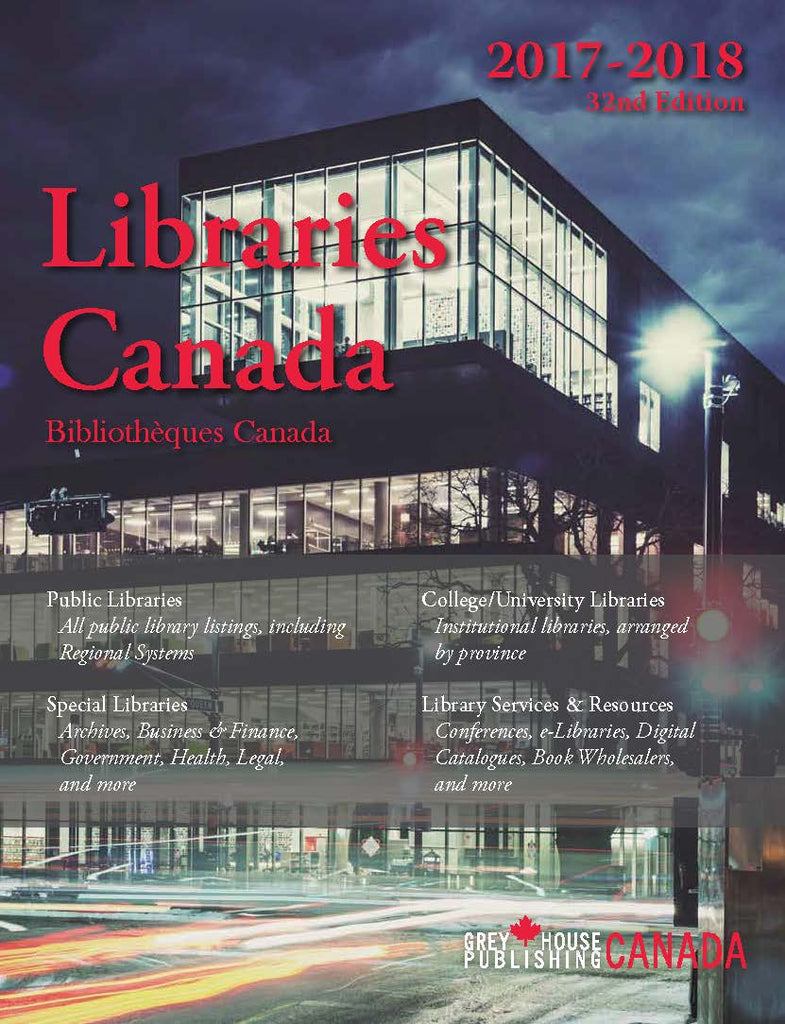 Libraries Canada, 2017/2018