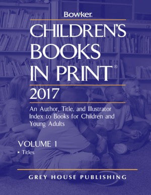 Children's Books in Print Titles
