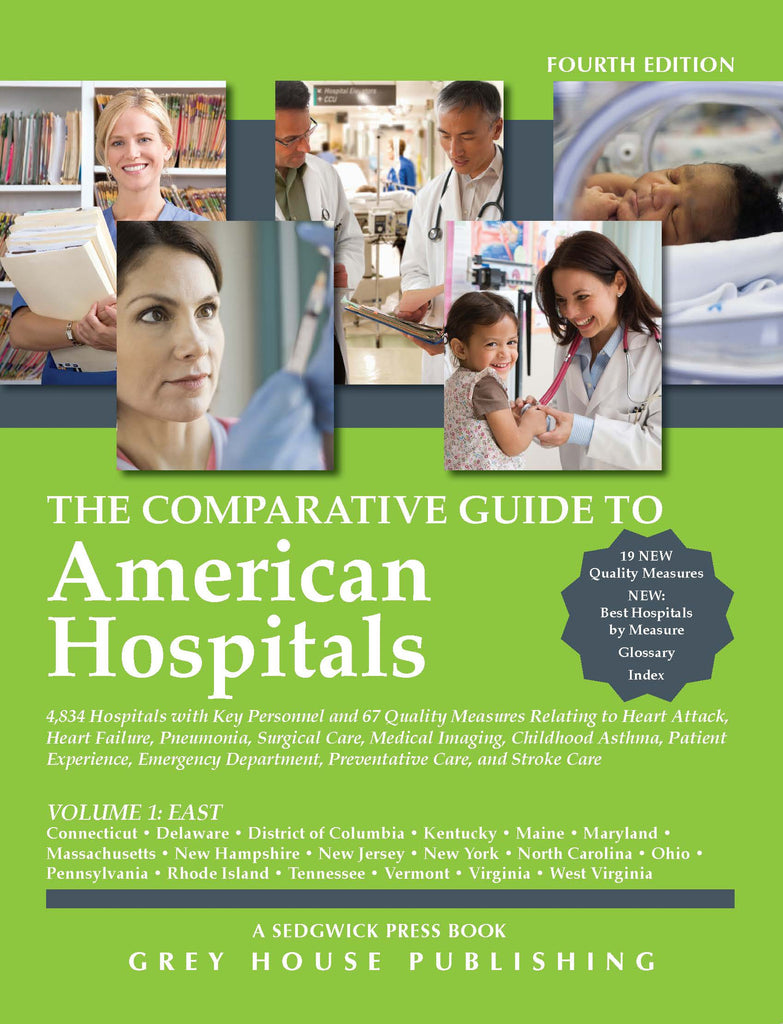 Comparative Guide to American Hospitals - Eastern Region, 2015
