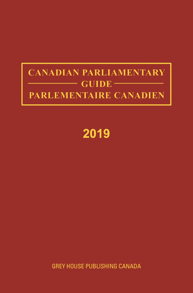 Canadian Parliamentary Guide, 2019