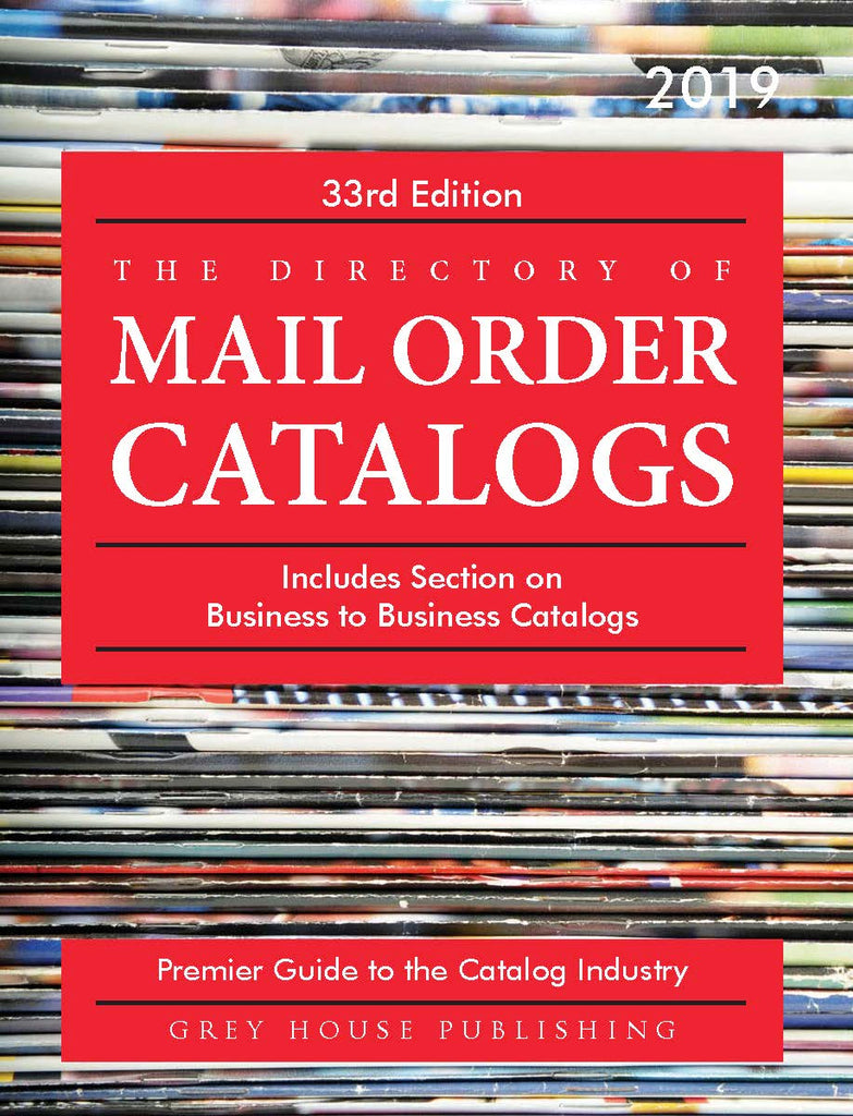 Directory of Mail Order Catalogs, 2019