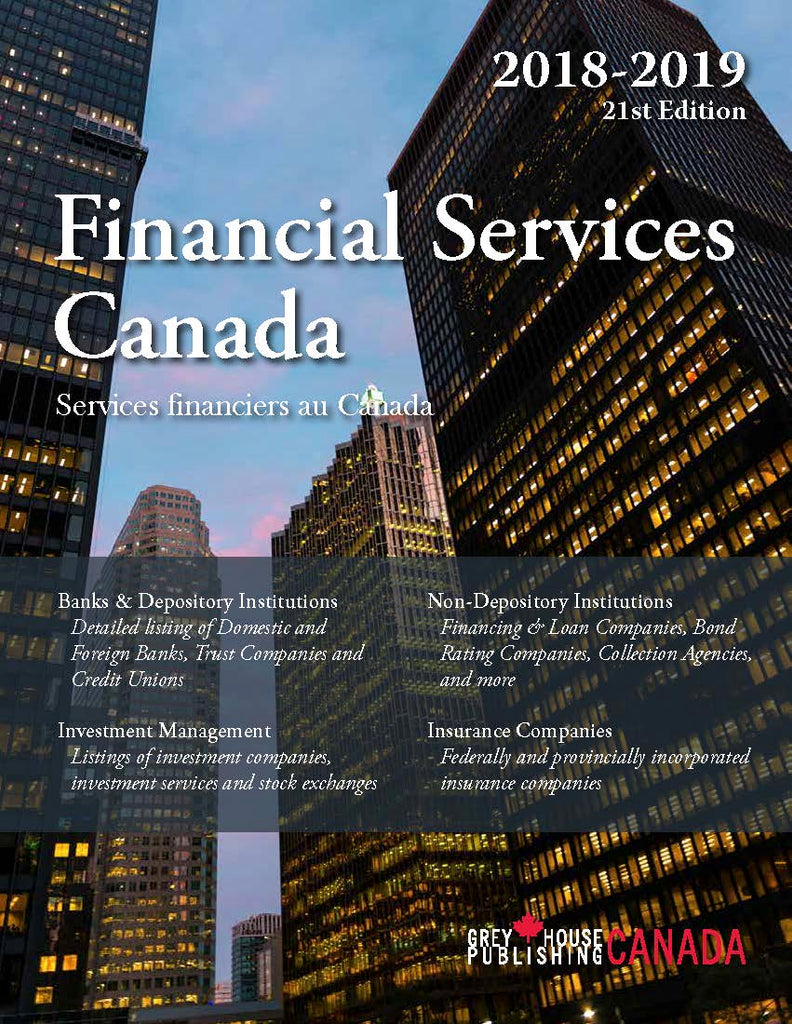 Financial Services Canada, 2018/19