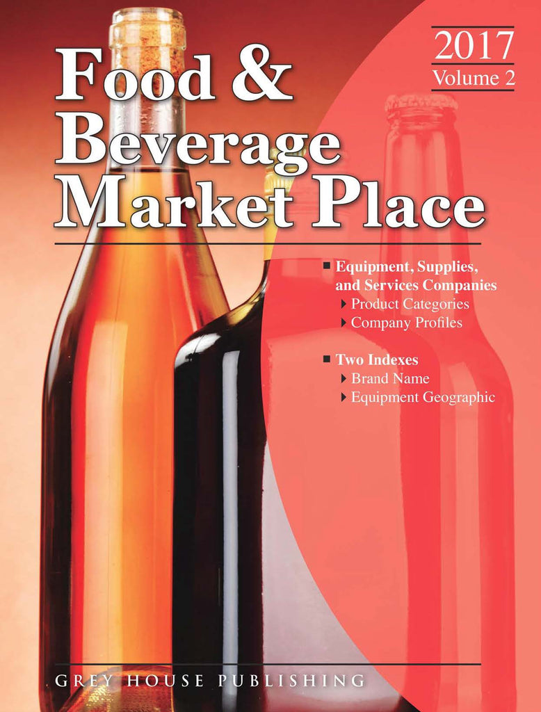 Food & Beverage Market Place: Volume 2 - Suppliers, 2017