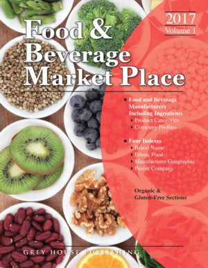 Food & Beverage Market Place: 3 Volume Set, 2017