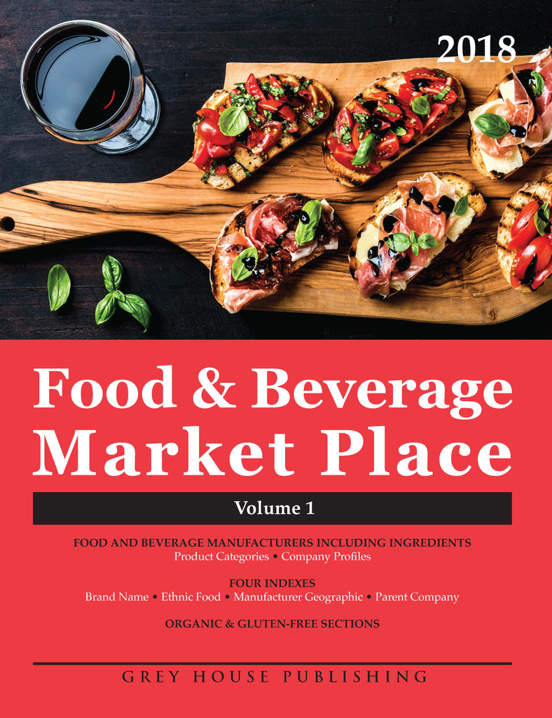Food & Beverage Market Place: 3 Volume Set, 2018