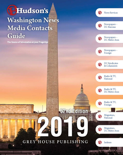 Hudson's Washington News Media Contacts Guide, 2019