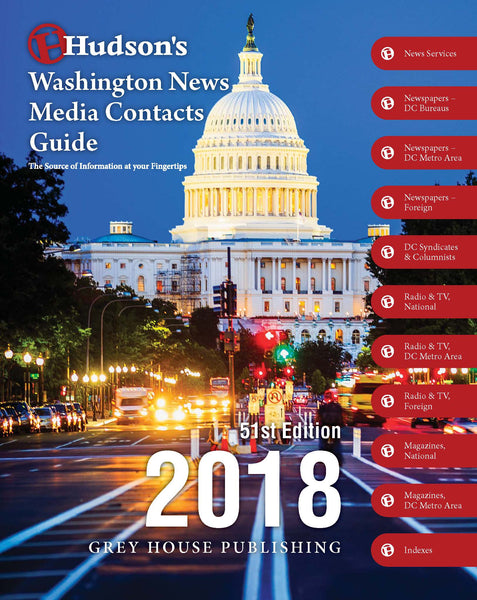 Hudson's Washington News Media Contacts Guide, 2018