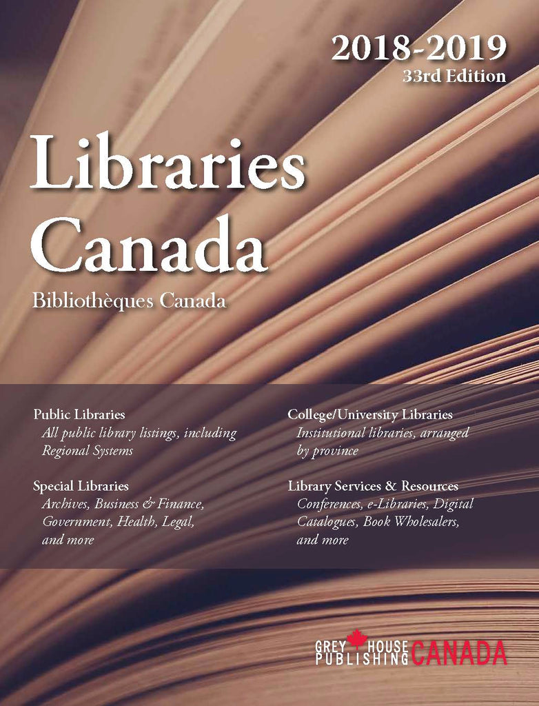 Libraries Canada, 2018/19
