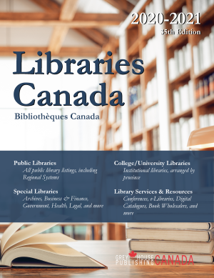 Libraries Canada, 2020/2021