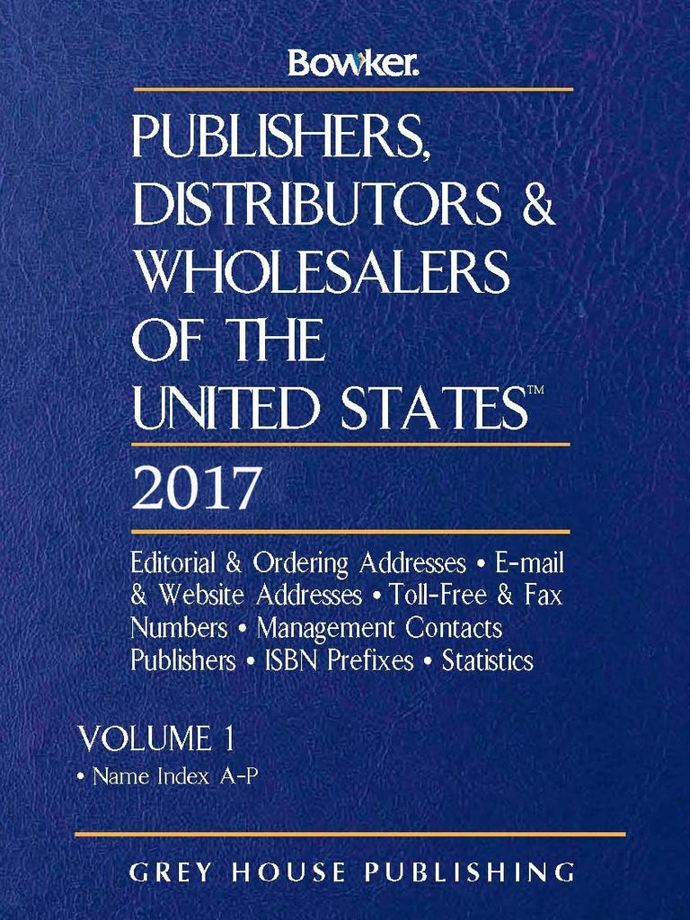 Publishers, Distributors & Wholesalers in the US - 2 Volume Set, 2017