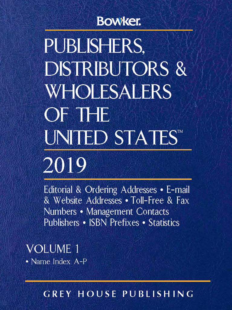 Publishers, Distributors & Wholesalers in the US - 2 Volume Set, 2019