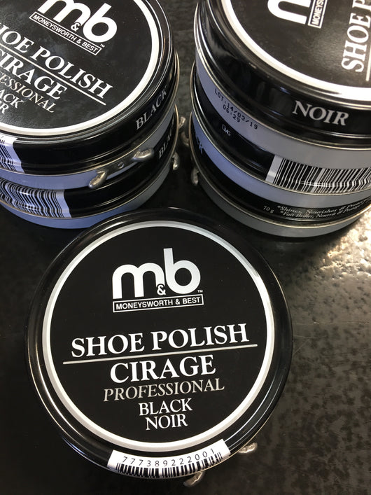 Moneysworth and best professional black shoe polish