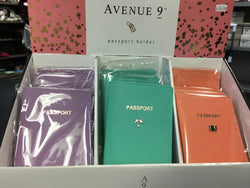 Avenue 9 passport holder